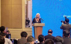 Выступление на съезде журналистов.